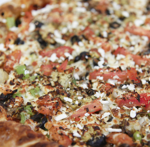 Greek Feta Pizza