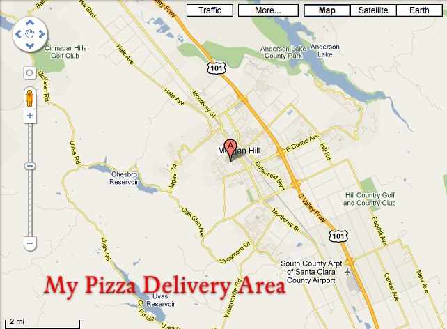 My Pizza 229 West Main Ave A Morgan Hill CA 95037-4595