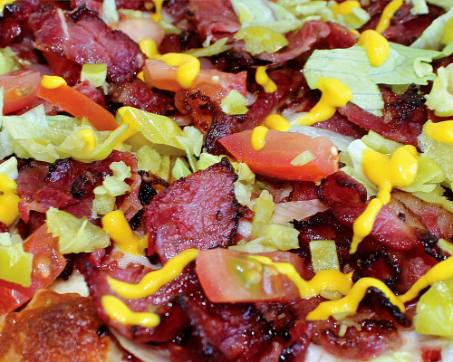 Hot Pastrami Pizza